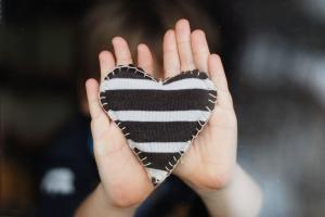 blackwhite heart