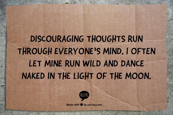 Wannabes and Discouragement