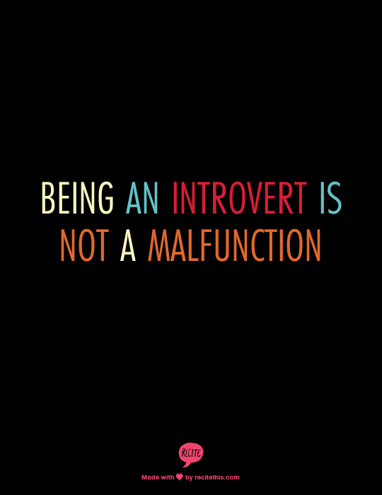 Introvert Malfunctioning