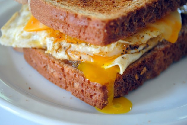 Birthdays and Fried EggSandwiches